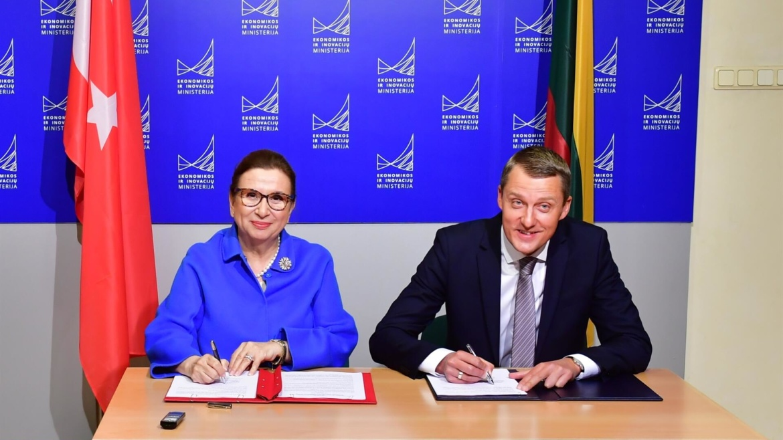 Turkey, Lithuania set $1 billion trade volume target