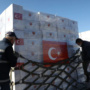 Turkey delivers medical aid to UK to help fight virus